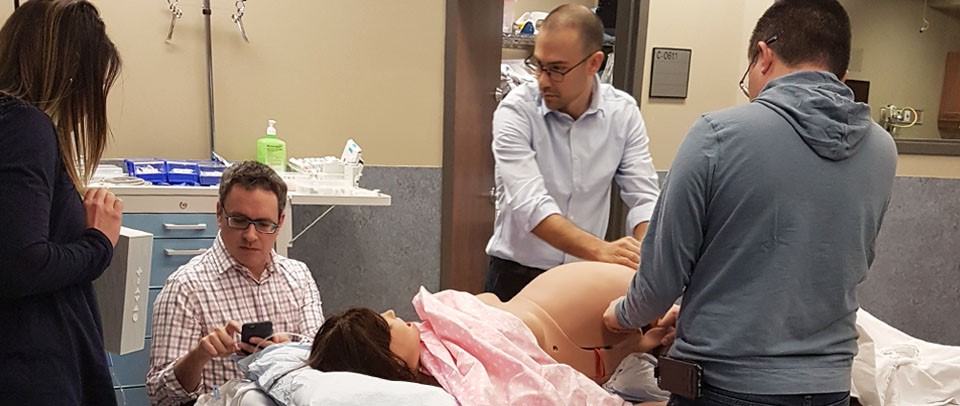 CAE Lucina birthing simulator training in Quebec